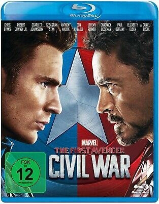 The First Avenger: Civil War [Blu-ray Disc]
