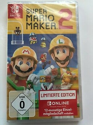 Switch Super MarioMaker 2 Limited Edition NEU/OVP