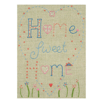 ANCHOR | Embroidery Starter Kit: Home Sweet Home - Beginners | PE705