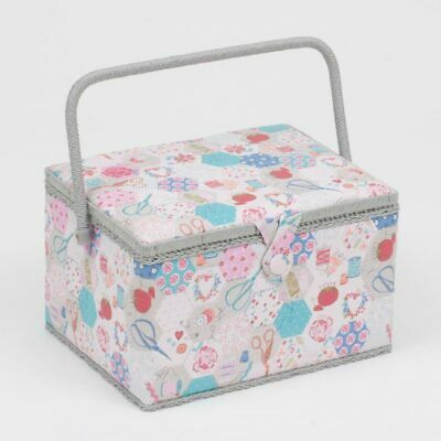 Notions Large Sewing Box | 23.5 x 31 x 20cm | HobbyGift MRL-440