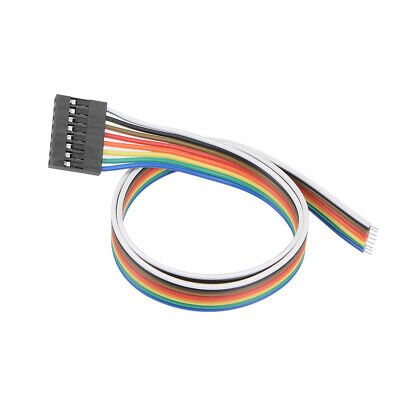 Breadboard Jumper Wires 8-Pin 40cm Female to Tined Tip Cable for Arduino