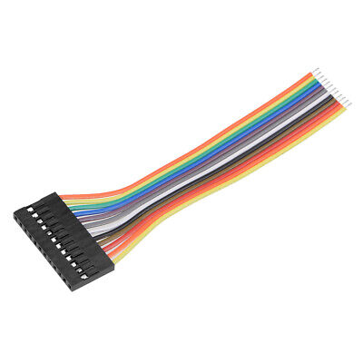 Breadboard Jumper Wires 12-Pin 10cm Female to Tined Tip Cable for Arduino