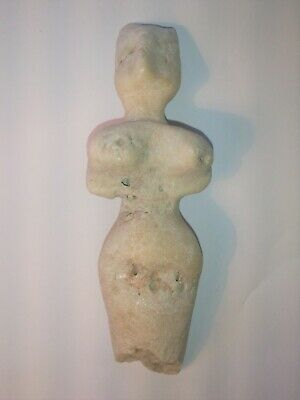 Neolithic carved marble mother goddess Venus #5, old Europe, ca 12,000- 5,000 BC