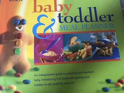 Marks And Spencer Baby And Toddler Meal Planner