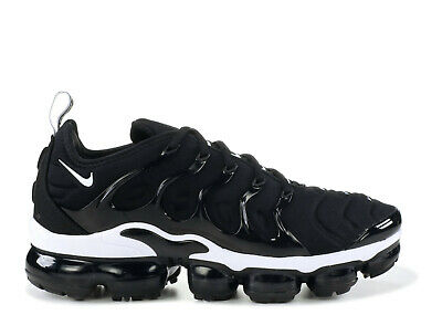 Nike Air Vapormax Plus Men's Shoes 924453-011 Black/White Sneakers Size 7