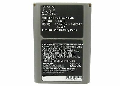 Replacement Battery For Olympus 7.6v 750mAh / 5.70Wh Camera Battery