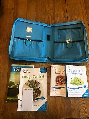 WeightWatchers Kit PointsPlus Ready Set Go COOKBOOK Getting Started DINING OUT