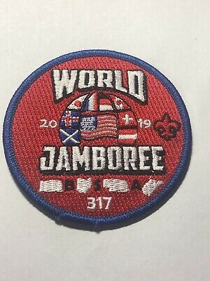 24th 2019 WORLD SCOUT JAMBOREE OFFICAL WSJ BADGE PATCH BSA 317