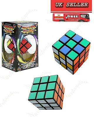 Kids Fun Neo Original Rubiks Super Speed Smooth Magic 3D Puzzle Toys Kids Adult