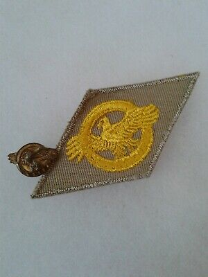 WW2 US HONORABLE Discharge Ruptured Duck Lapel Pin Gold Gilt