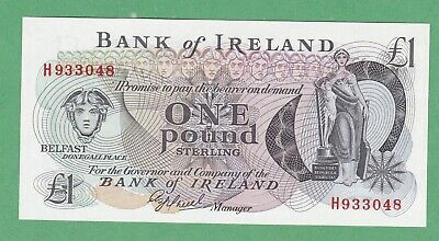Northern Ireland 1 Pound  Notes  P-65   UNCIRCULATED   Bank of Ireland