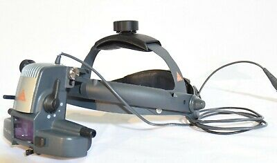 Heine Omega 500 Binocular Indirect Ophthalmoscope Headset - Tested