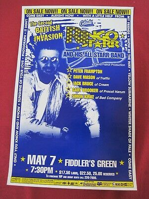 Ringo Starr And His All-Starr Band Tour Poster  Beatles