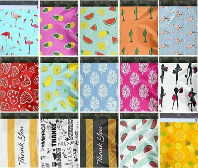 1-1000 10x13 Boutique Poly Mailer Bags Fast Shipping Peacock Designer