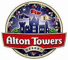Alton towers resort tickets /massive savings 50% off