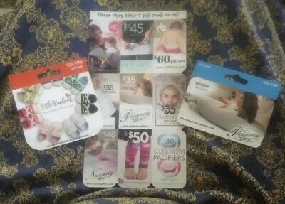 11 'Mothers Lounge' Pregnancy Baby Gift cards (Total Of $480 In Savings)