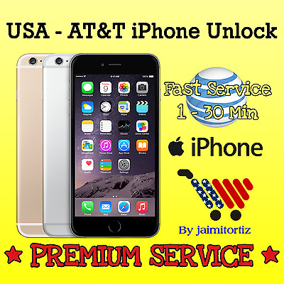 Factory UNLOCK ✅ iPhone 6, 6S and Plus ✅ Code ATT AT&T ✅ PREMIUM VIP Service ✅