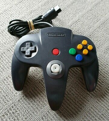 Genuine Nintendo 64 N64 Controller - Black and Gold - New toggle 🕹️