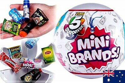 Mini Brands 5 Surprise! balls - Ship from Melbourne - Add to your Little Shop!