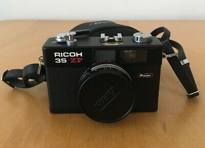 RICOH 35 ZF 35mm Film Camera Great Condition-Rikenon Lens