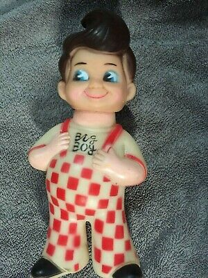 Vintage Shoney's Bobs Big Boy Vinyl Bank