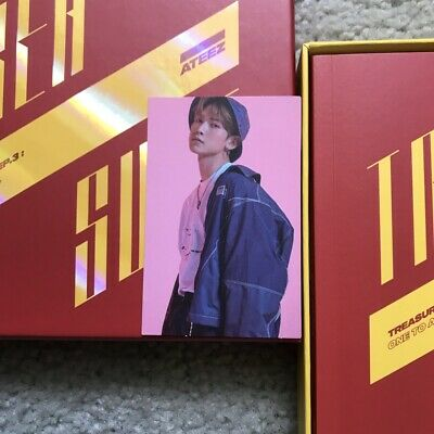 OFFICIAL - ATEEZ Treasure EP.3: One to All Wave & Illusion Yeosang Photocard 🌊