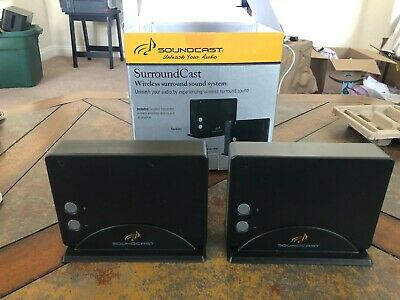 Soundcast™ Surroundcast Kit  - Wireless Surround System