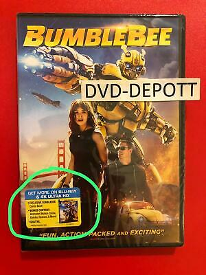 Bumblebee DVD {{{AUTHENTIC DVD READ}}} Brand New FAST Free Shipping