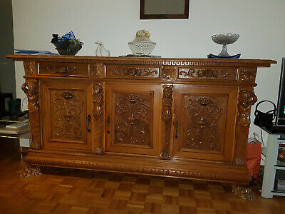 Hand carved solid walnut furniture, To the best offer