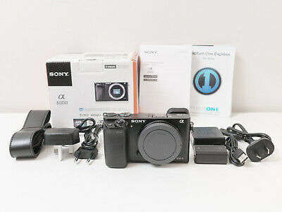 Sony A6000 24.3 MP Camera Body Only ~Close to New & Low Count ~$442 with code