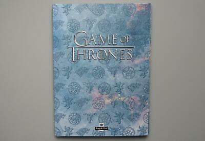 Game of Thrones - Stamp Art Souvenir Folder (10 Prints, Stamp Sheet & Poster)