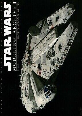 NEW Star Wars Modeling Archive II Book