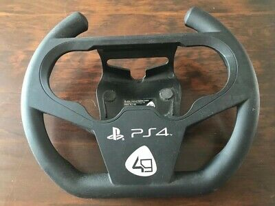 Steering Racing Wheel for Sony Playstation PS4 Joypad Grip Controller Compact