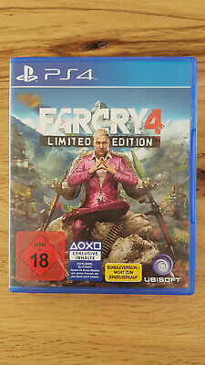 Far Cry 4 Limited Edition (Sony PlayStation 4, 2014, DVD-Box) - Top Zustand