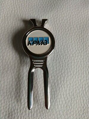 KPMG magnetic pichfork & golf ball marker NEW