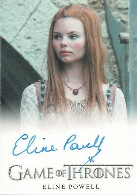 Game of Thrones Season 7, Eline Powell 'Bianca' Autograph Card