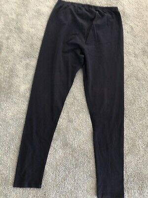 Blooming Marvellous (Mothercare) Navy Blue Over Bump Maternity Leggings Size 10