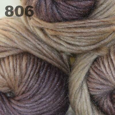 Sale Lot 3Ballsx50gr New Knitting Yarn Chunky Colorful Hand Wool Wrap Scarve 806