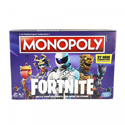 Monopoly Fortnite Edition Board Game Kids Play Family Night Party Games Fun Gift