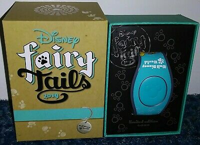 2019 Disney Parks Fairy Tails Pin Event Magic Band Limited Edition 1000 IN STOCK