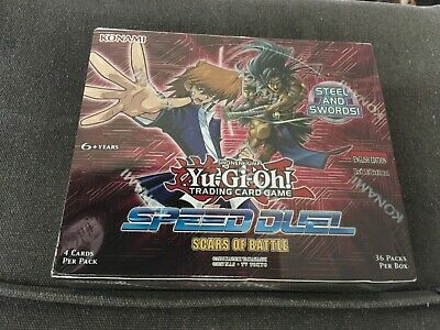 YuGiOh Speed Duel Booster Box Scars Of Battle