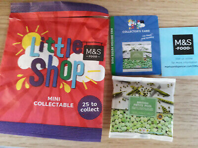 ✨MARKS AND SPENCER M/&S FOOD LITTLE SHOP MINI COLLECTABLE PETITS POIS PEAS ✨