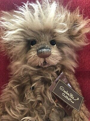 Stunning Tattycoram mohair Charlie Bear Isabelle Lee Collection Mint with tags
