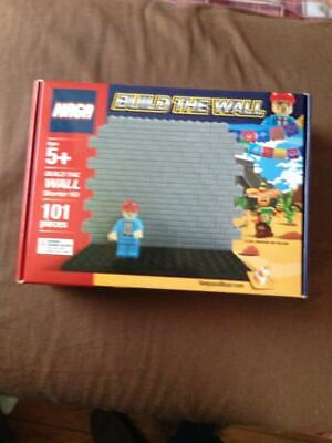 MAGA Lego Build The Wall Donald Trump Keep And Bear Legos - BRAND NEW!