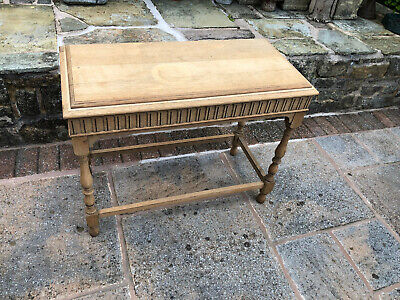 Edwardian Oak Occasional Table - Hall Table - Antique Decorative Table