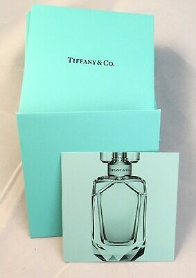 Tiffany & Co. Set of 35 Perfume Parfum Card Cards Samples for Women