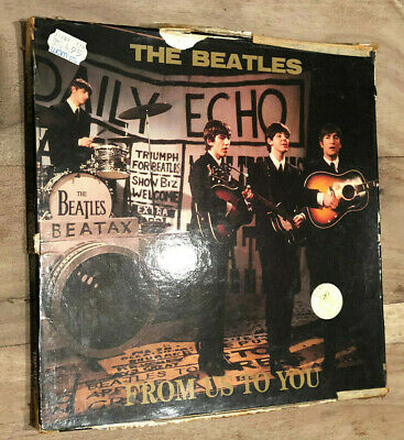 The Beatles - From Us To You (TSP-15-3) color vinyl 3 LP box