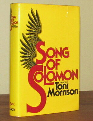 Toni Morrison SONG OF SOLOMON First Printing