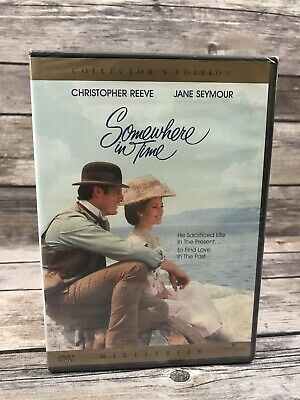 Somewhere in Time (Collector's Edition) DVD Christopher Reeve Jane Seymour NEW