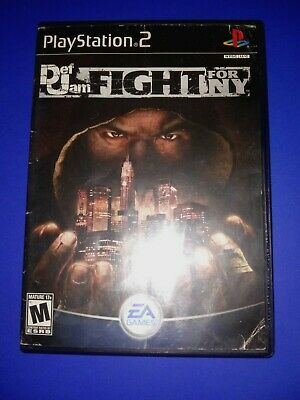 Def Jam Fight for New York - PlayStation  2  Case w/ Artwork  No Game No Manual